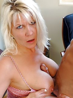 Sexy Mature Titjob Pictures